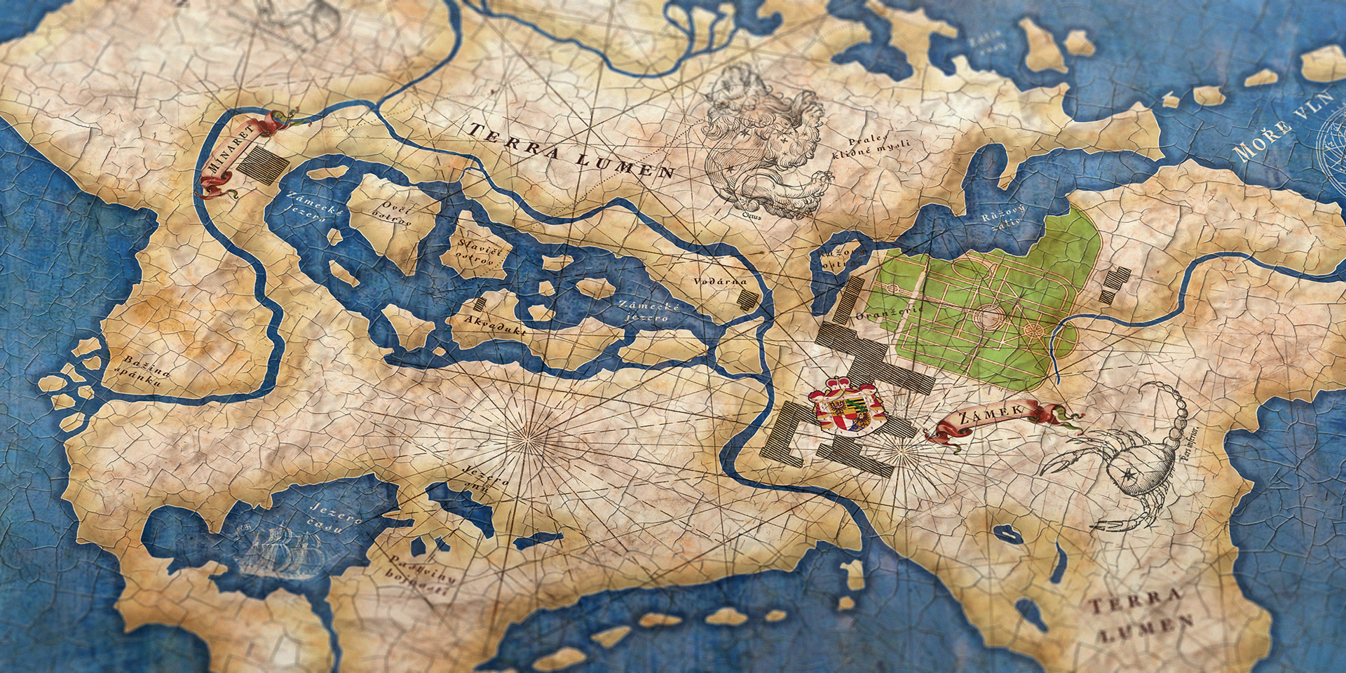 Petr Hlousek Kresba Design Mapy